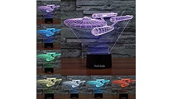 Star trek 3D lamp