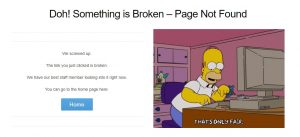 22 Awesome 404 Page Not Found Examples