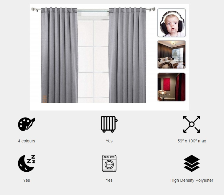 Review of sound proof curtain Acepunch