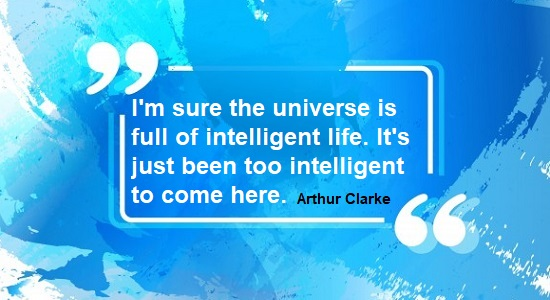 Arthur C. Clarke science quote