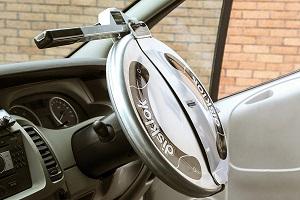 Disklock steering lock