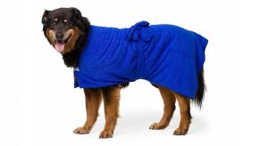 Dog drying robe