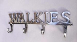 Dog themed chrome wall hook