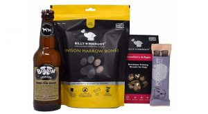 Dog treats gift set