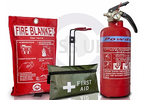 Fire safety kit