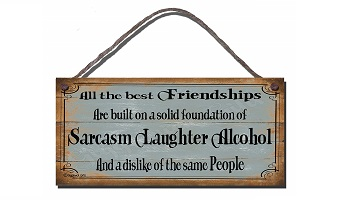 Funny gift sign