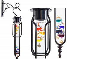Galileo garden thermometer