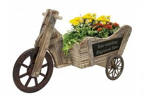 Garden bicycle planter