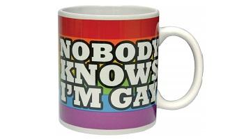Colourful and funny gift mug