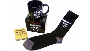 Gift set for grumpy people