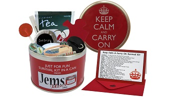 Keep calm and carry on gift