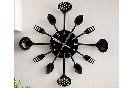 Awesome kitchen clock