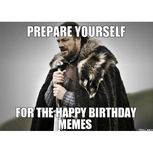 Prepare yourself for the happy birthday memes. https://giftedgeek.co.uk/
