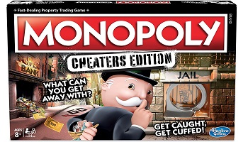 Monopoly game for cheaters