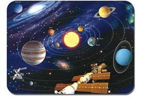 Astronomy mouse pad