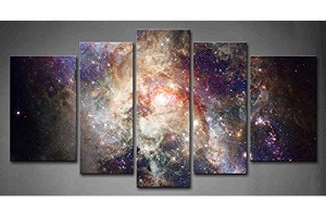 Nebulae wall art