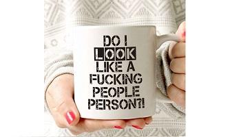 Funny gift - people persons mug