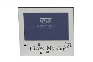 Photo frame gift for cat owners
