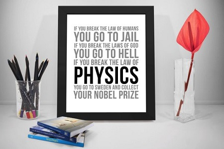 physics wall picture