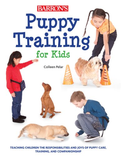 Puppy training for kids book