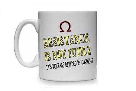 Resistance not futile mug