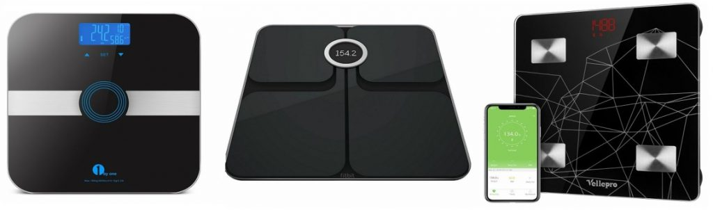 3 scales for weight and body monitoring - https://giftedgeek.co.uk/