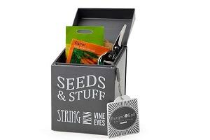 Gardener's seed storage tin