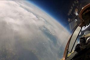 MIG 29 edge of space flights