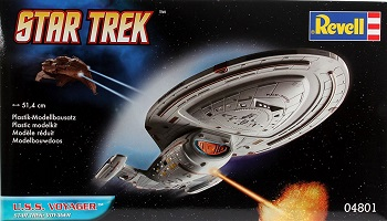 Model kit for starship Voyager