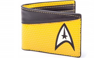 Star trek wallet in vivid colours
