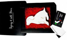 Stone puppy gift box