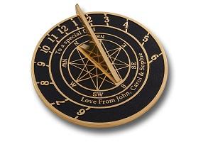 Personalised sundial