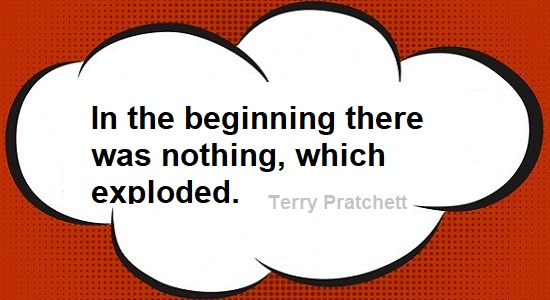 Terry Pratchett quote