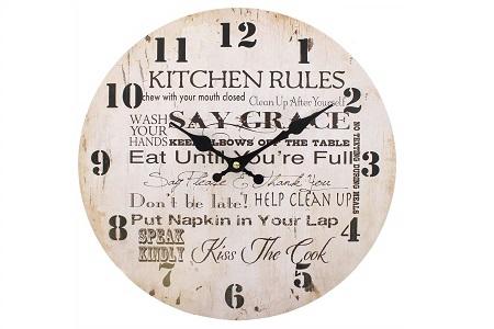Kitchen rules clock