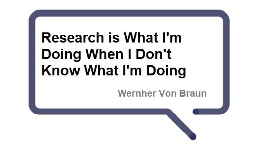 Wernher von Braun science quote