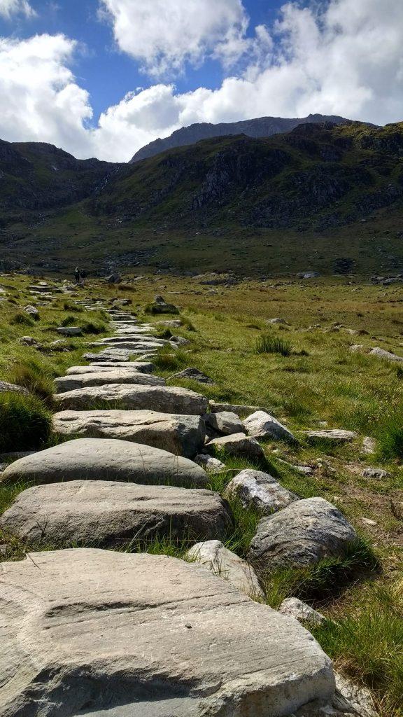 Heading towards Trfan in Snowdonia