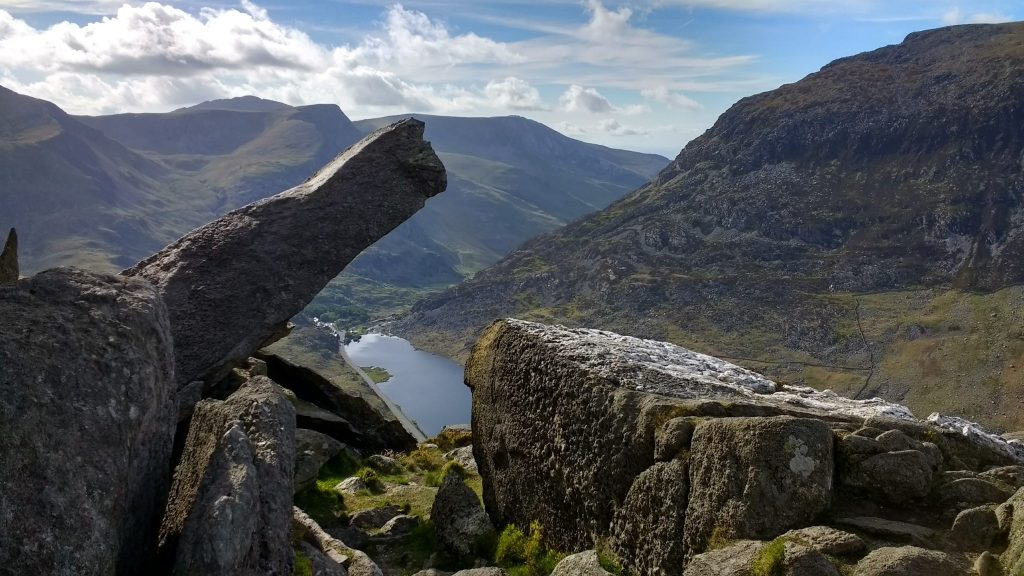 The Cannon on Tryfan in Snowdonia