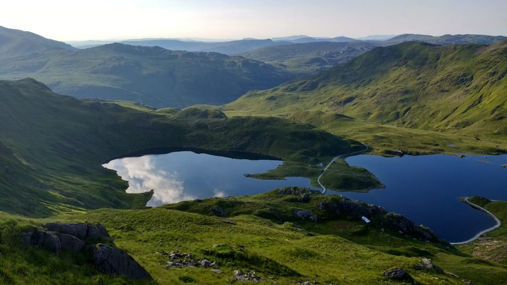Llyn Llydaw in Snowdonia