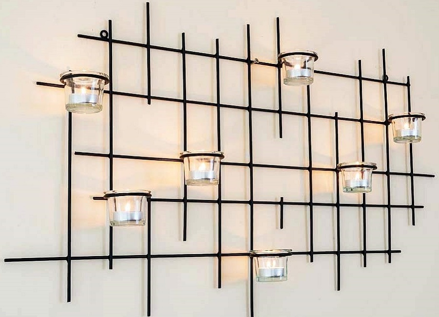 candle holder for walls